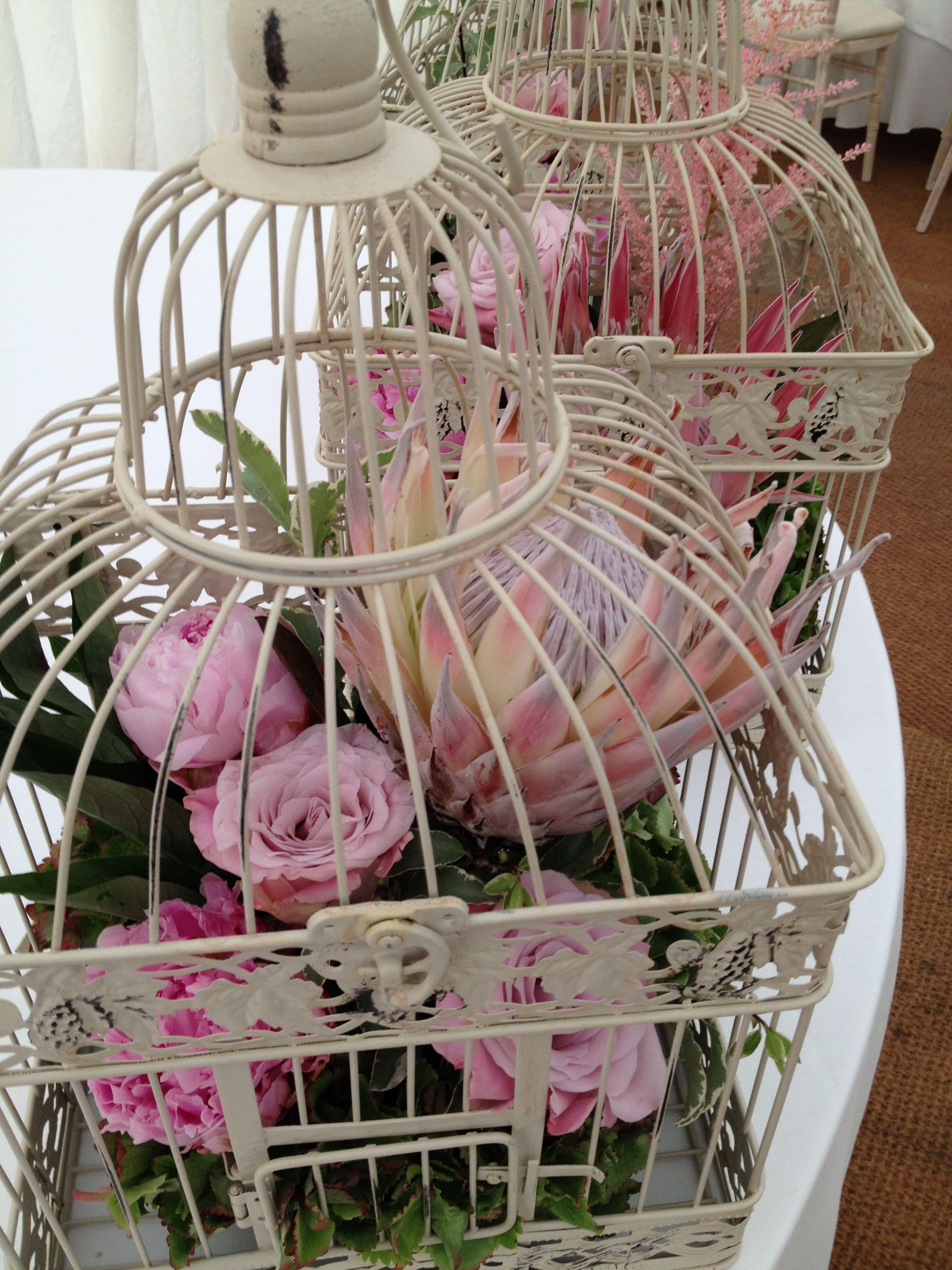 Birdcage Centerpiece Ideas