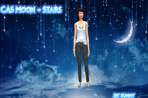 CAS BAckground Moon and Stars - Sims Dreams Downloads