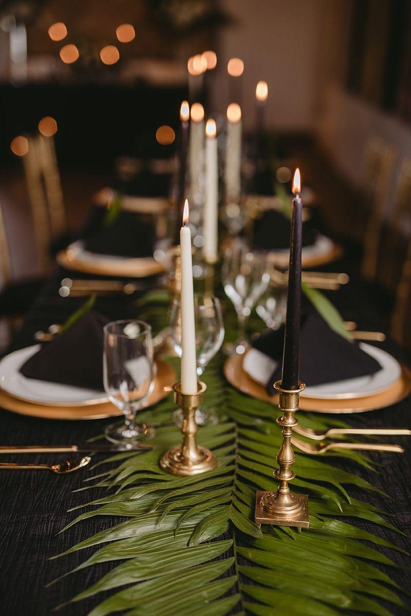 Modern Tropical Wedding Vibes to Make You Swoon #whitecandleswedding