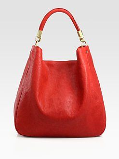 54d1069bdf Yves Saint Laurent - YSL Large Leather Roady Hobo