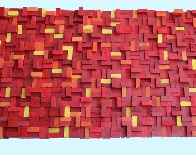 Rustic reclaimed Wood wall Art 20x30, wood wall sculpture, abstract wood art, Modern Wall Art, Wood wall Art, wood mosaic, Reclaimed wood #reclaimedwoodwallart