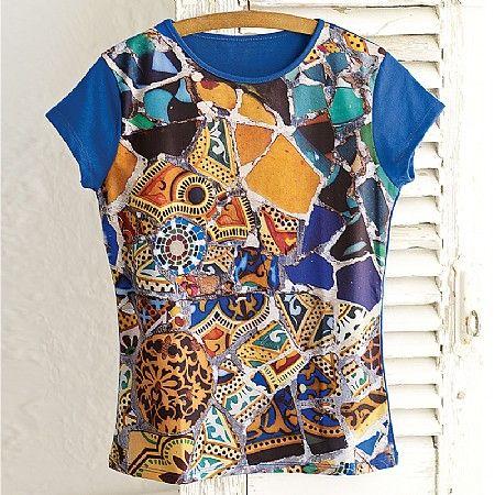 Trencadis+T-Shirt