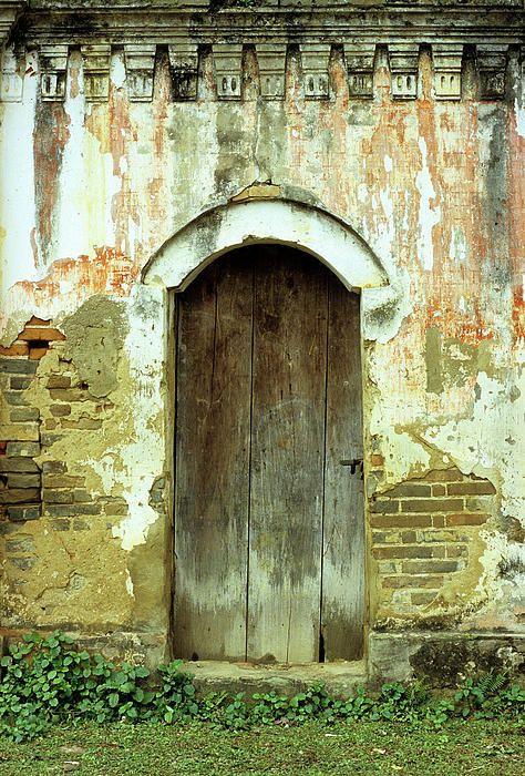 Photo of Old Door Door Poster av Rick Piper Photography
