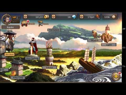 Legends of 100 Heroes Android Gaming #1 - Legends of 100 Heroes is a Free 2 play Android, Rolr-Playing Multiplayer Game RPG featuring an epic Campaign as well as Multiplayer Modes