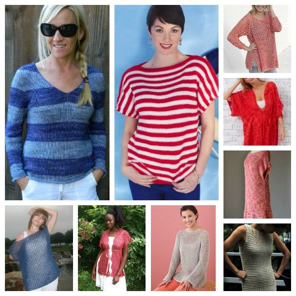 Knit Summer Tops Perfect for the Beach