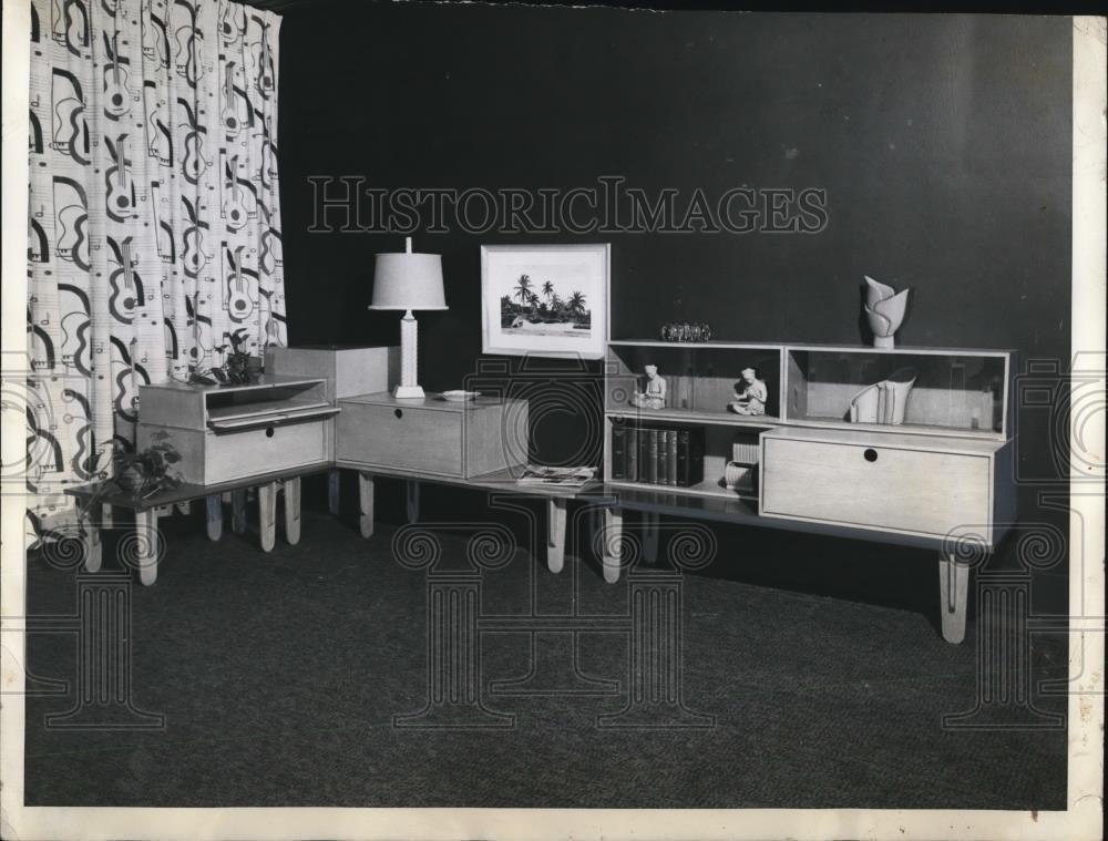 1943 Press Photo Pakto Furniture Designed By Dan Cooper Furniture Design Furniture Design