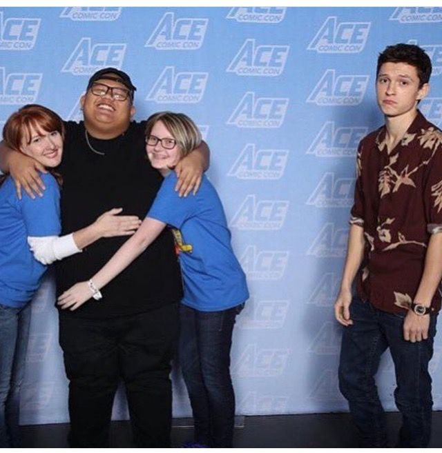 ACE Comic Con Tom Holland 15-01-2018 | Spider man ...