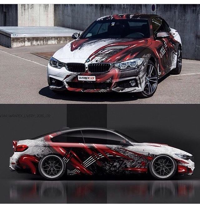 SD Wraps Cars Wraps Pinterest Wraps Cars And BMW - Car sticker designimpressive wrap decal design for car car design
