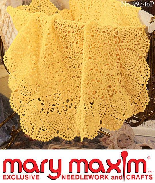 Exquisite Baby Blanket Pattern   Nimblefinger   Pinterest   Mantas ...