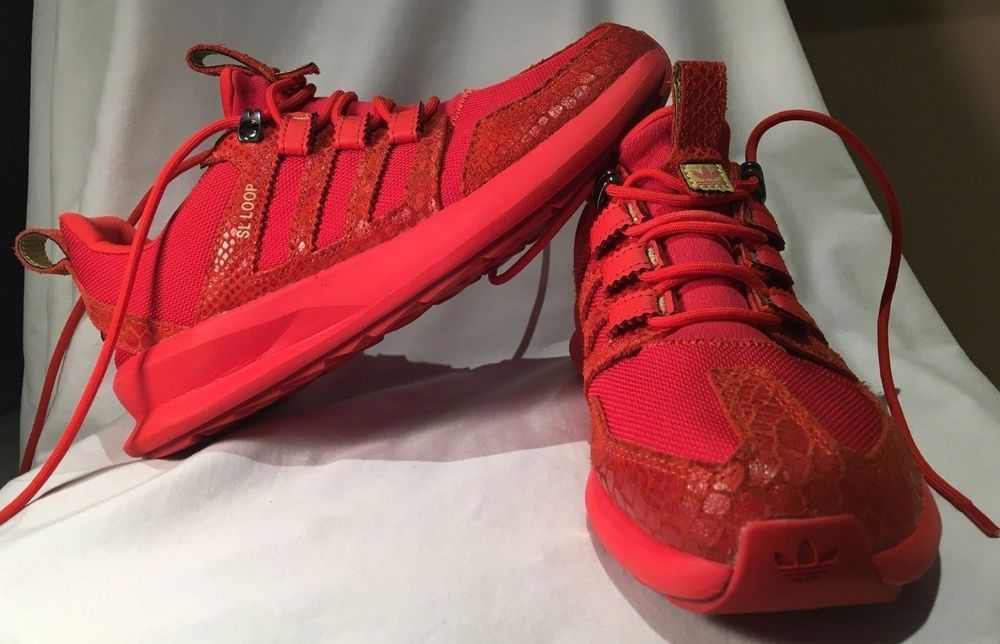 sports shoes 46679 4cdff Adidas Mens Originals Sl Loop Runner Size 9 Red Snake Print  fashion   clothing  shoes  accessories  mensshoes  athleticshoes (ebay link)