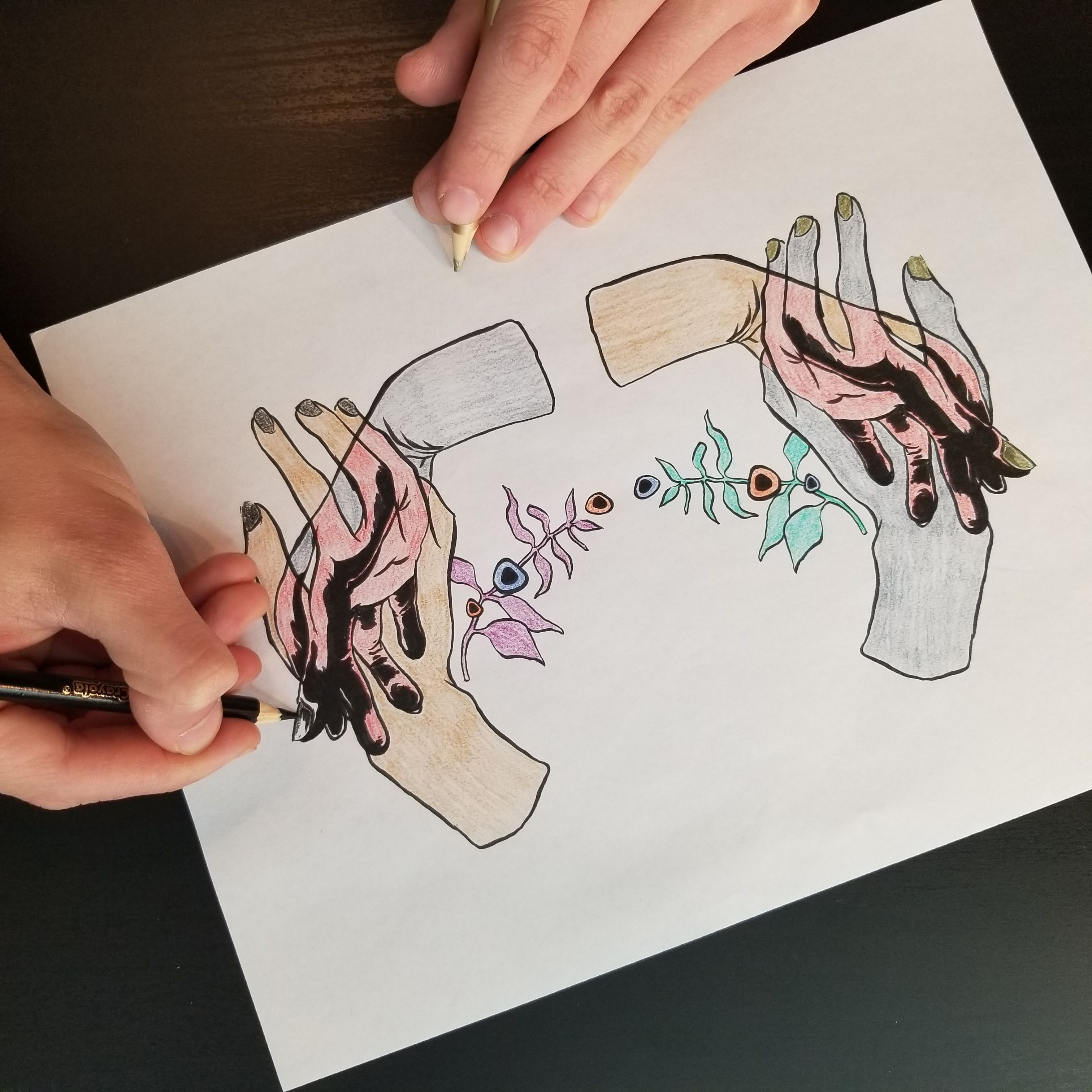 Get A Free Ambidextrous Coloring Sheet To Help Support