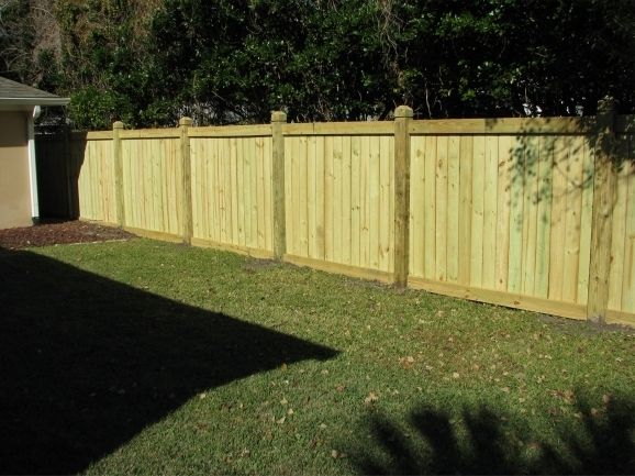 Types Of Wood Fences For Backyard | Wood privacy fence ...