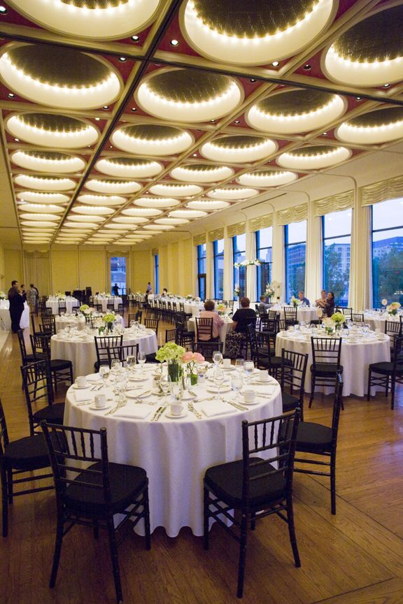 Wedding Reception At The Marcus Center For The Performing Arts