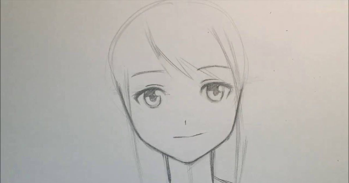 20 Gambar Animasi Simple Tapi Keren Tutorial Cara Mudah Menggambar Anime Bagi Pemula Download 30 Gambar Gadis Anime Tutorial Gambar Anime Menggambar Gadis