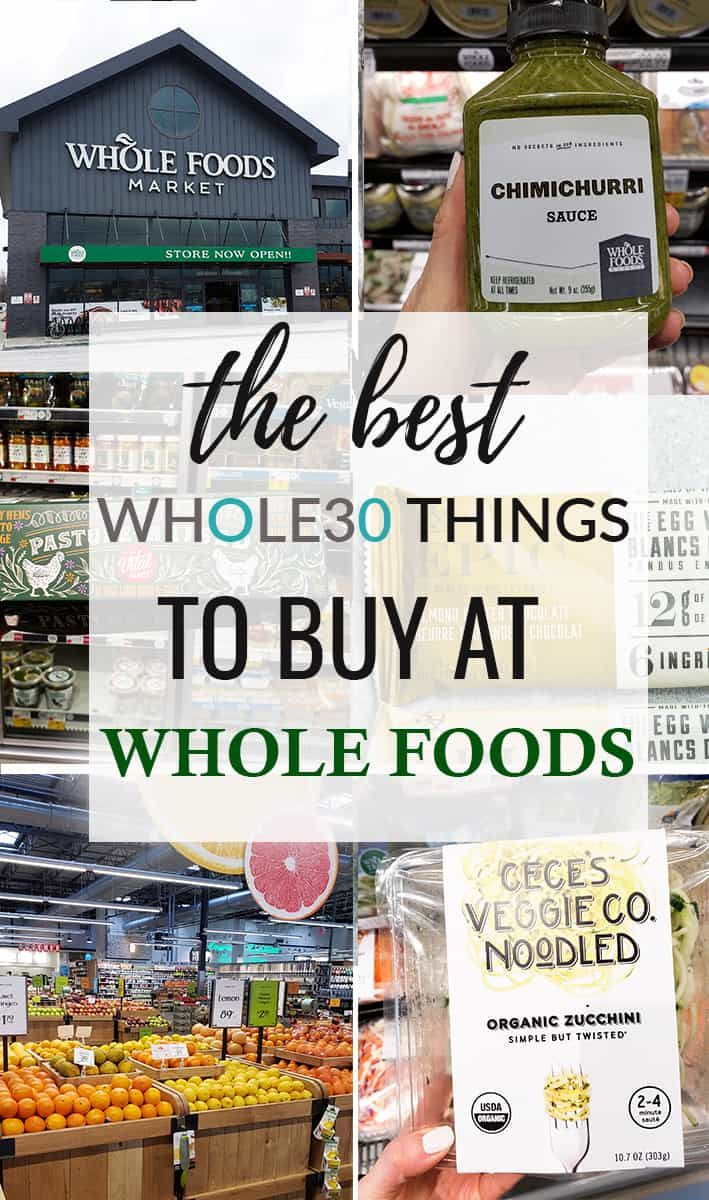 The Best Whole30 Whole Foods Shopping Guide with Grocery