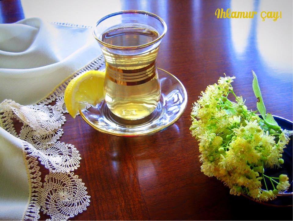 除了紅茶,土耳其人也喜歡喝各式具不同療效的花草茶,照片中的是清爽的菩提花茶。