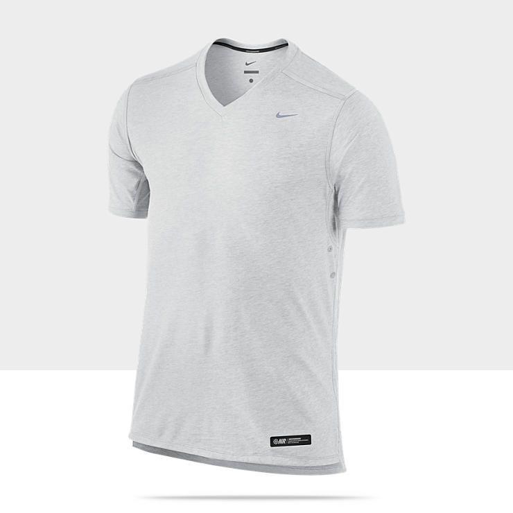 Nike Tailwind Short Sleeve V Neck Men's Running Shirt $55
