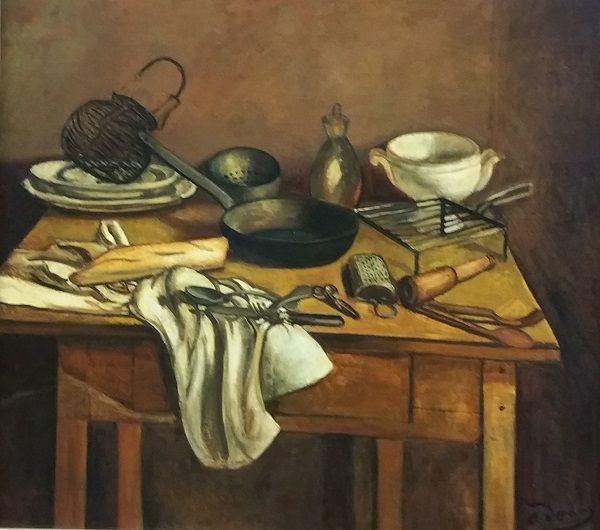André Derain - Il tavolo di cucina (1925) | Art | Pinterest