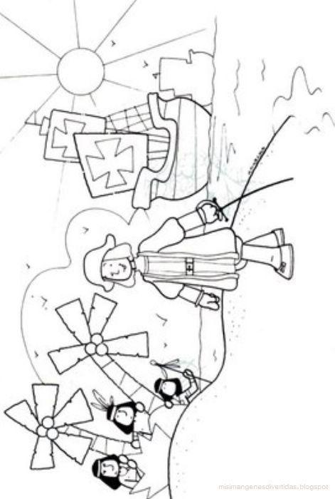 Llegada de Cristobal Colon a America Dibujo  trabajos nios