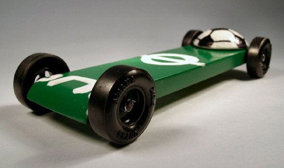 pinewood derby car idea