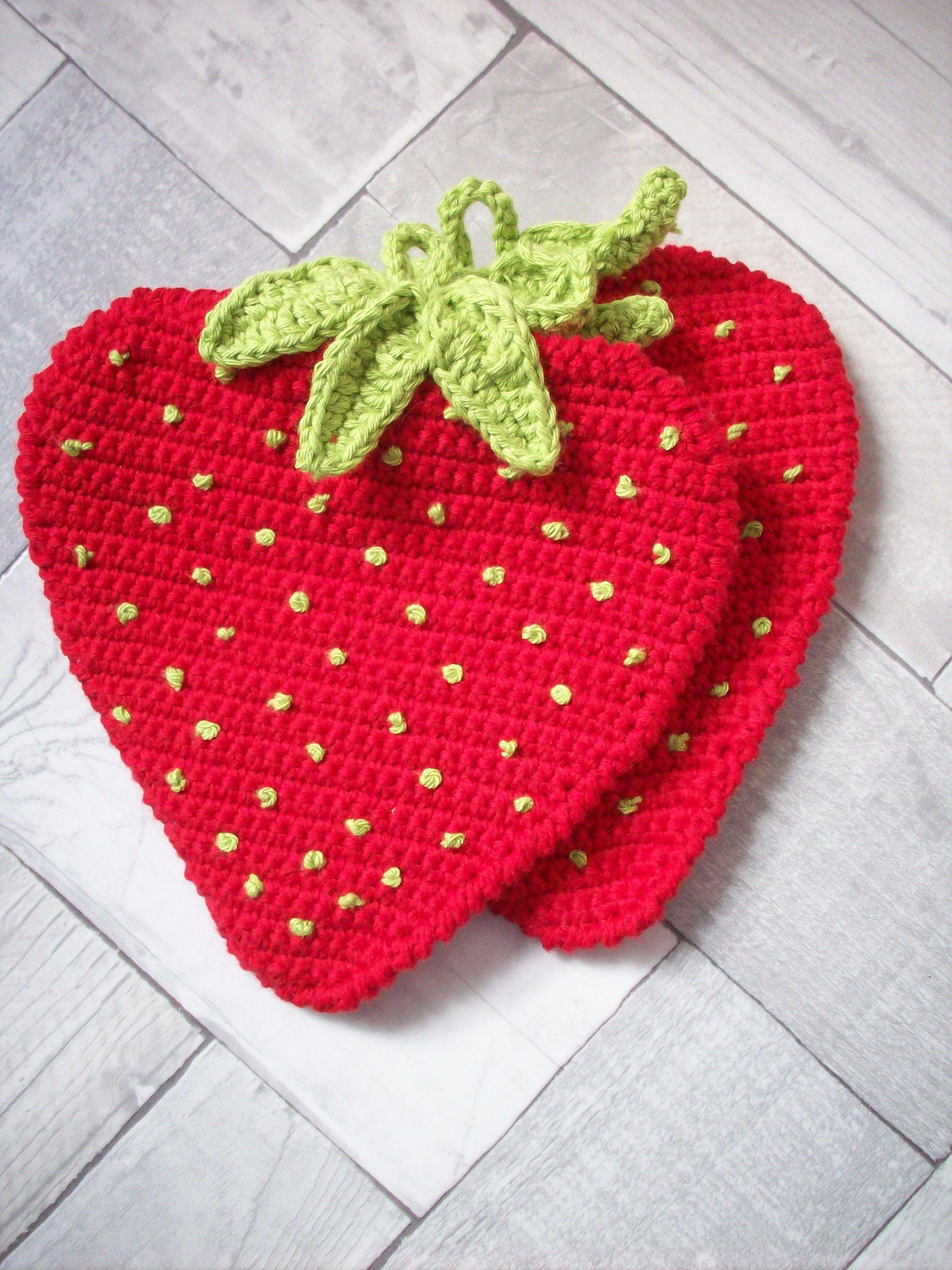 Aardbei pannenlap. | Haken voor de keuken | Pinterest | Erdbeeren ...