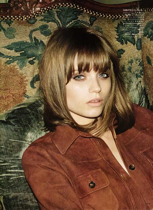 Afbeeldingsresultaat Voor Short Hair Bangs Light Brown Hair Styles Hair Trends Long Bob