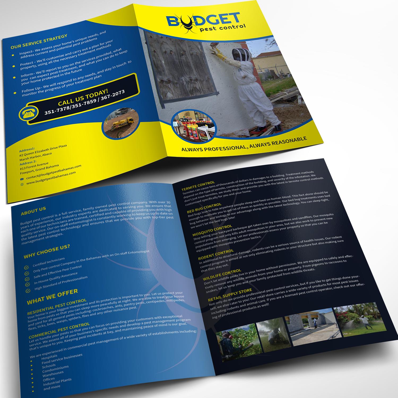 Brochure Design Brochure Design Brochure Pest Control