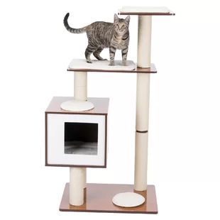 Tucker Murphy Pet Wayfair Wooden Cat Tree Wooden Cat Cat Wall Furniture