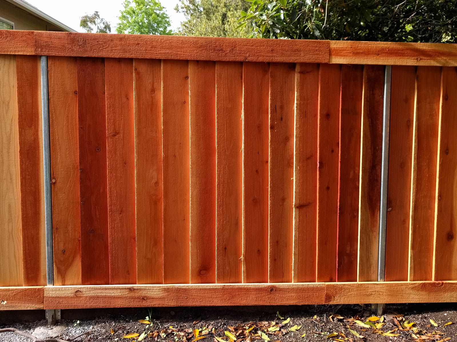 How To Build A Modern Good Neighbor Fence Wooden Fence Panels