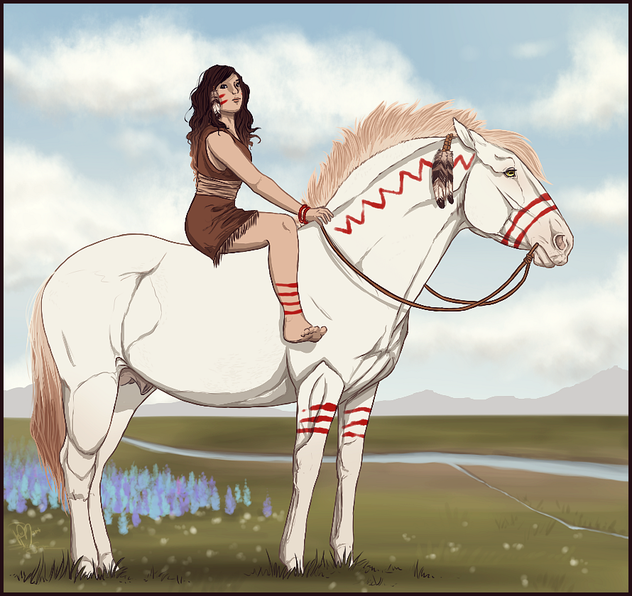 Indians By Palemount On Deviantart Horse Animation Horse