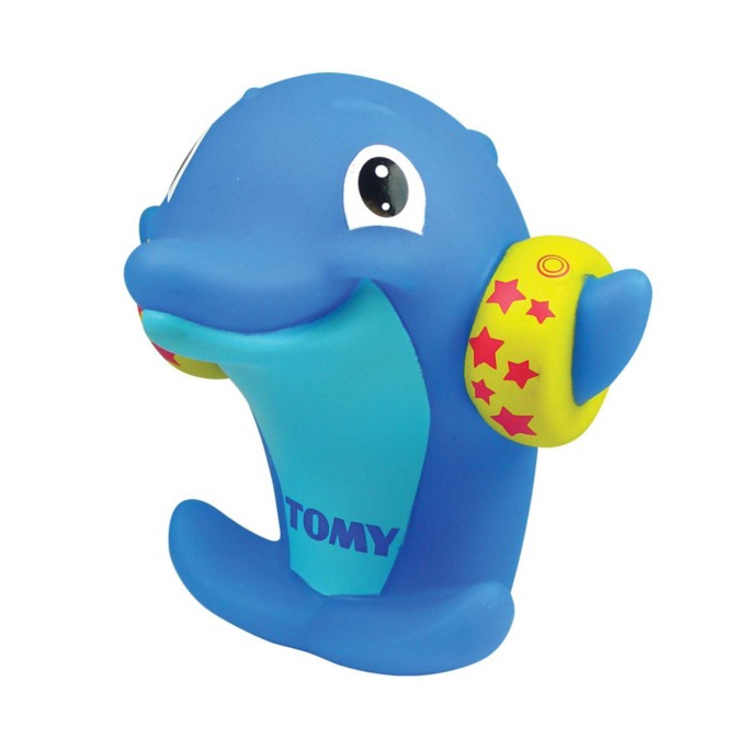 Bath Toy Buddy Dophin: Tomy Dolphin Water Whistlers