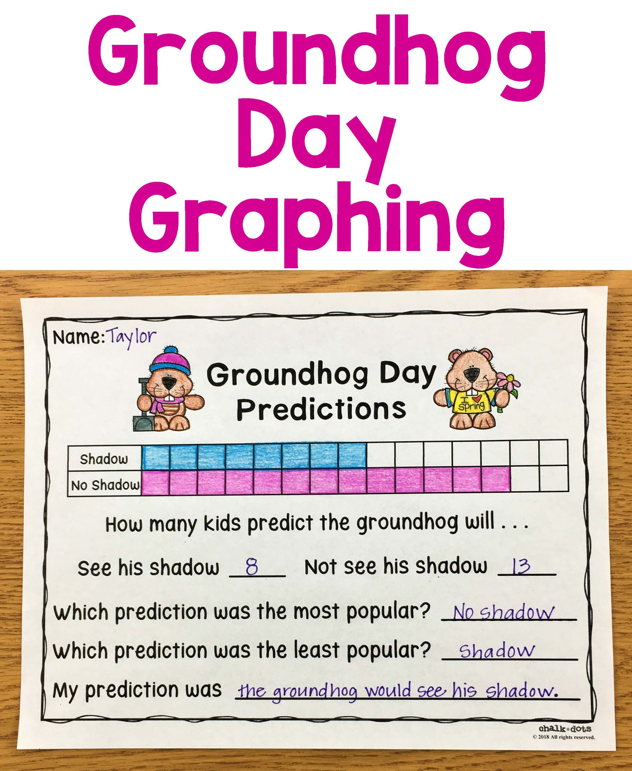 Groundhog Day Writing Prompts Teaching Ideas