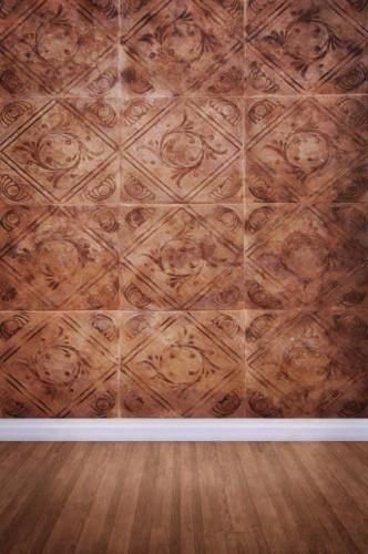 Lcpc403 Brown Tile Wall 10x10 Backdrop In Stock Last Call Backdrop Outlet Wall Backdrops Brown Tiles Wall Tiles