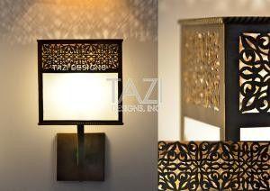 Moorish Wall Light Veronica Glass Fixture Wall Lights