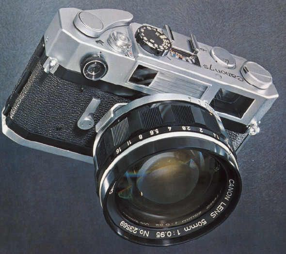 Canon 7s | I would want this camera just to be able to shoot with an f.95 lens..and it just looks pretty awesome. This camera originally came out in 1961!