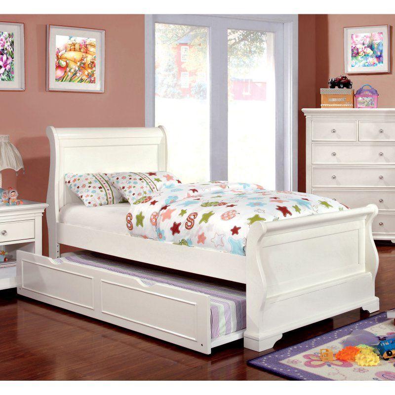 Furniture of America Adina Sleigh Bed - IDF-7944F