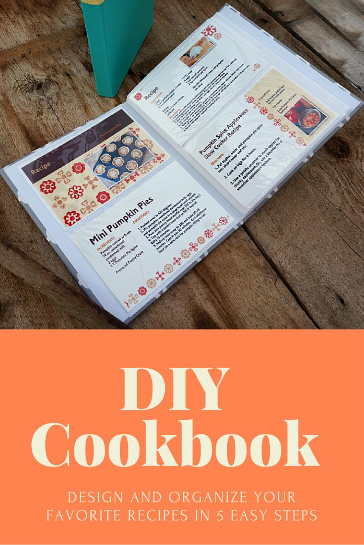 diy recipe card cookbook creating my first cookbook self