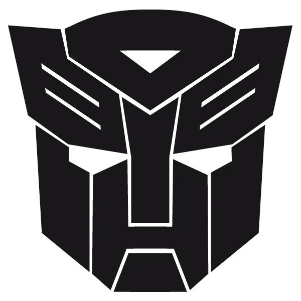 Adhesivo De Vinilo Del Autobot De Transformers Adhesivo Comics Y Videojuegos Decalsmania Transformers Fiestas Cumpleanos Transformers Calcomanias De Vinilo