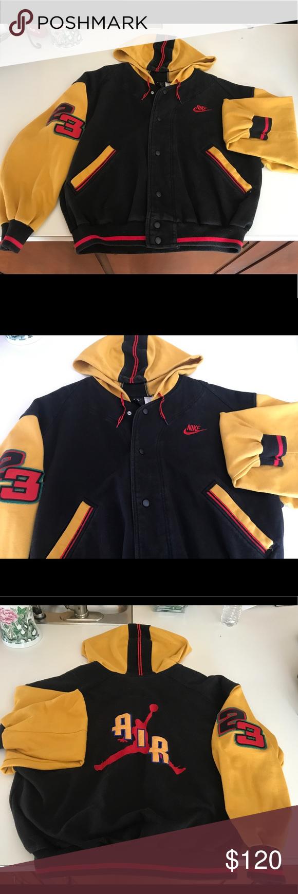 325b35e7f6b Authentic Jordan Nike jacket Vintage Nike Michael Air Jordan 23 Varsity  jacket Nike Jackets & Coats Bomber & Varsity