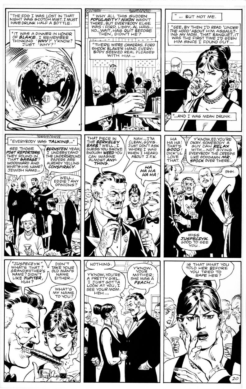 DAVE GIBBONS - WATCHMEN Nº9 PAGE 20 (THE DARKNESS OF MERE BEING ...