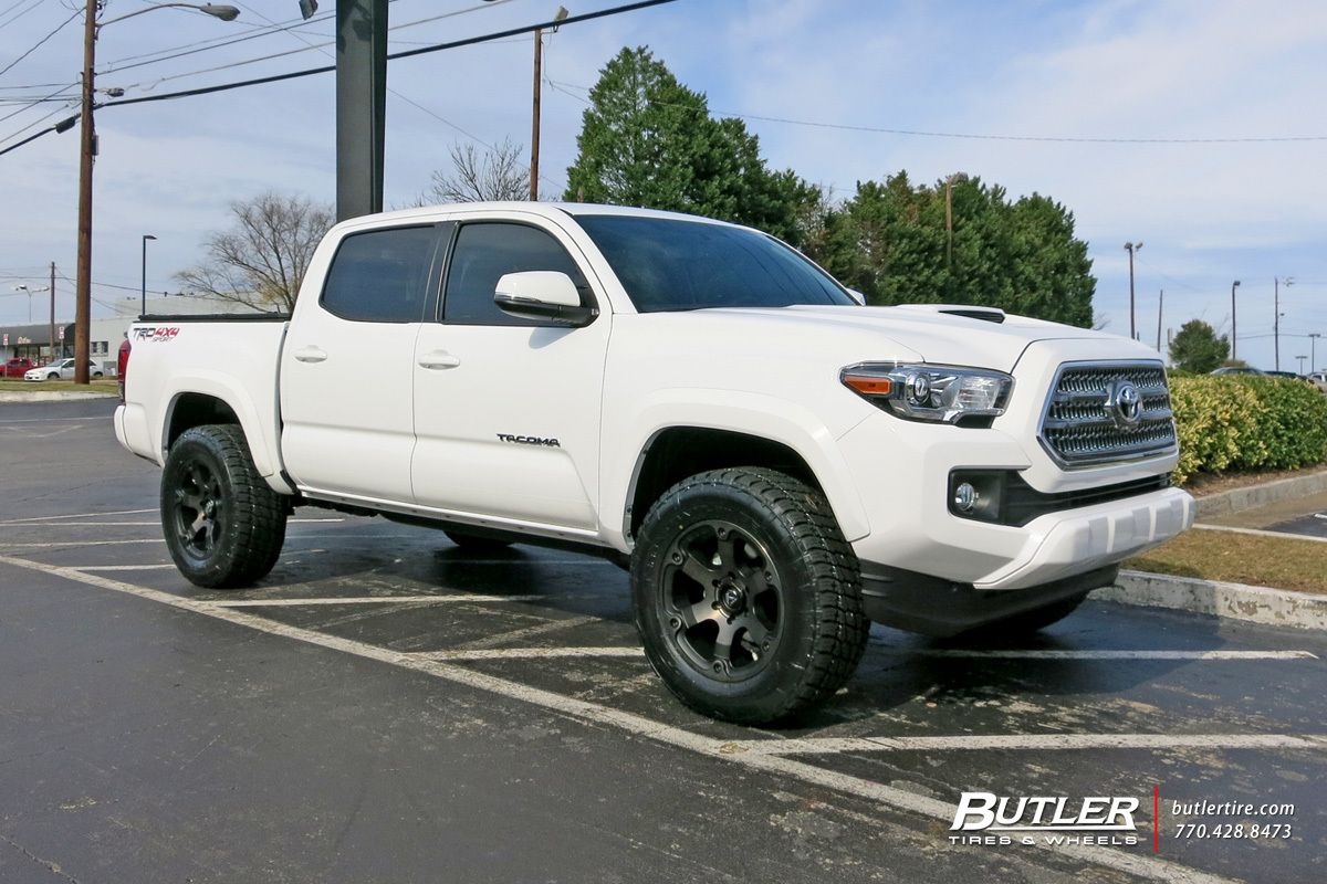 Toyota tacoma with 18in fuel beast wheels