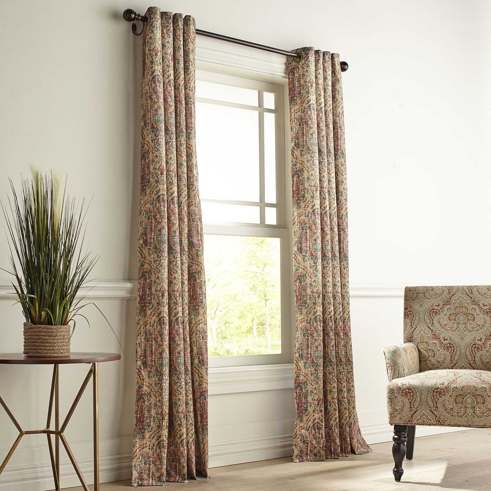 Pier One Curtains Clearance.Harlowe Gold Grommet Curtain Pier 1 Imports Curtains