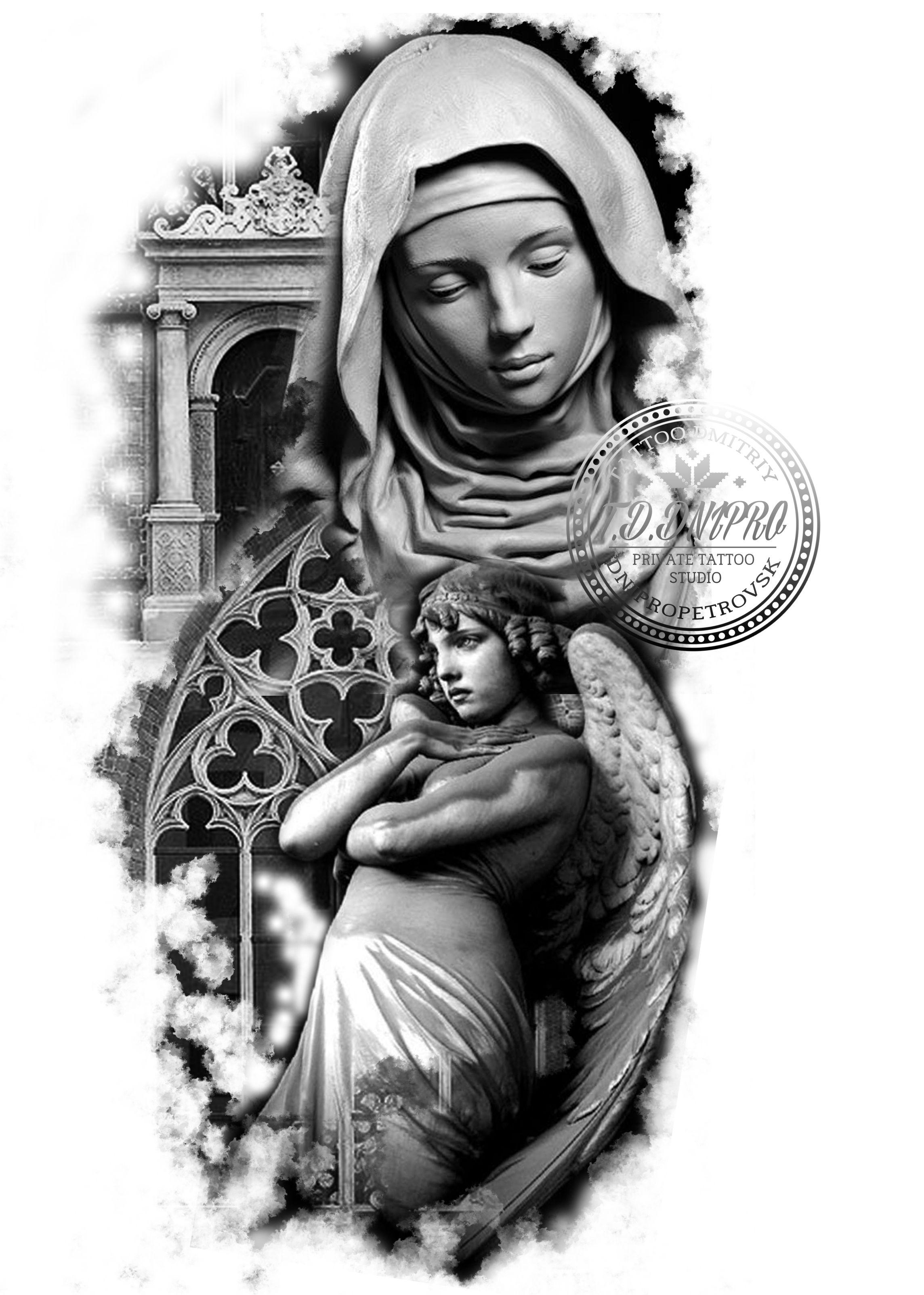 картинки рисунки тату религиозные изображением