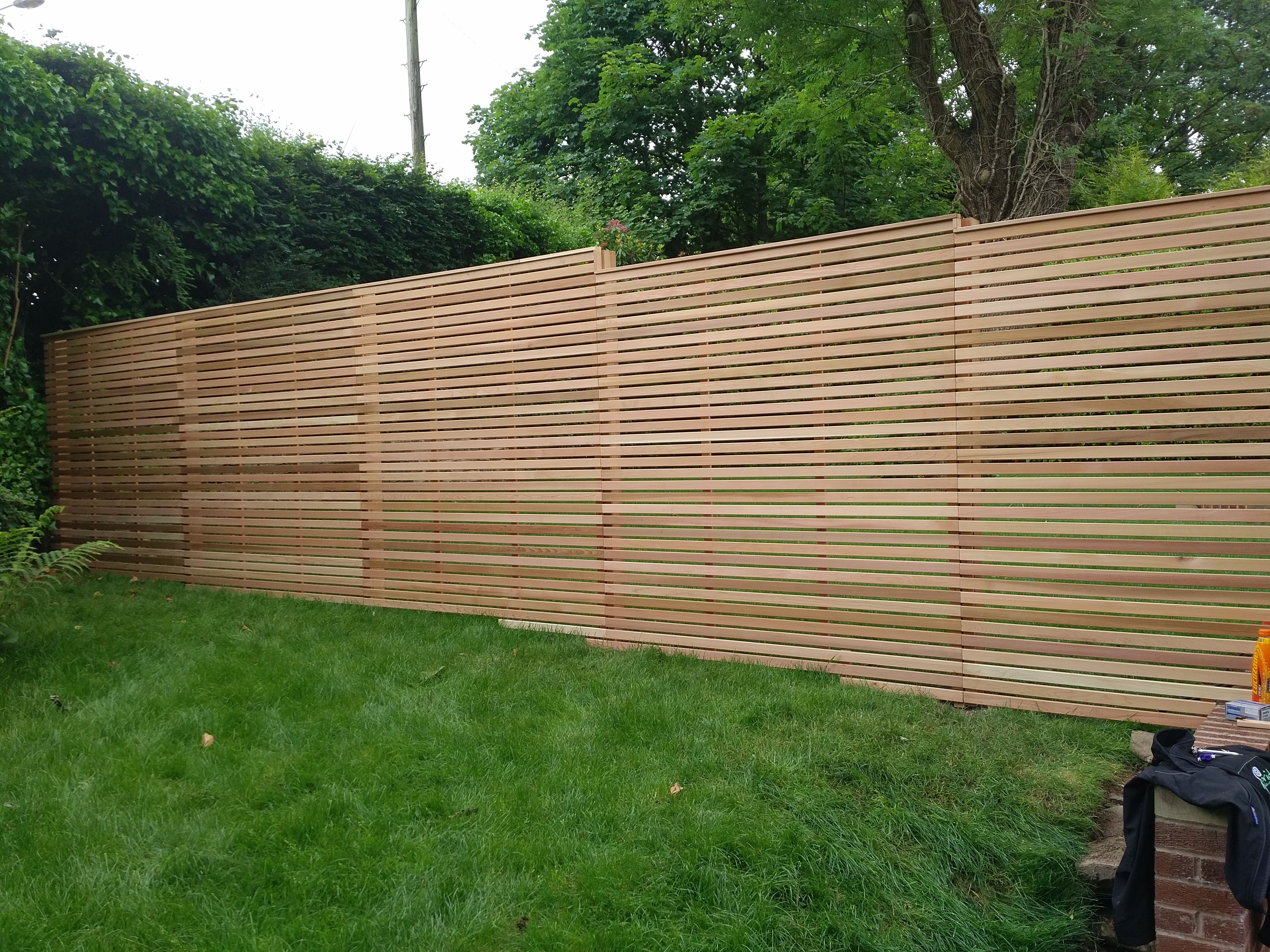 Contemporary Slatted Fence Panels Garden Design Plans Fence Design Slatted Fence Panels