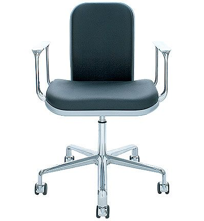 supporto low wide back office chair designedfred scott in 1979