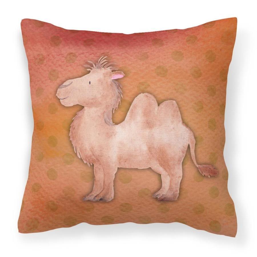 Caroline's Treasures Watercolor Artwork Graphic Print Square Animals Throw Pillow Polyester | BB7393PW1414