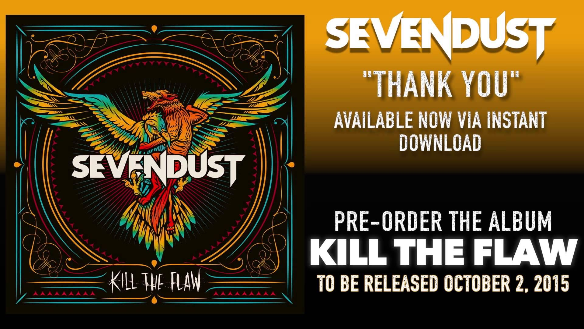 SEVENDUST Thank You (Official Audio) Metal songs