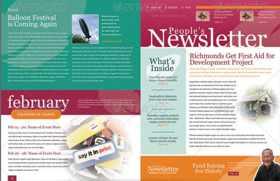 Pages Newsletter Template  Metroeast Design Inspiration