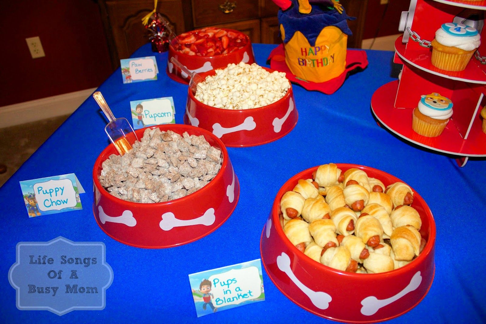 Life Songs Of A Busy Mom Paw Patrol Birthday Party Paw