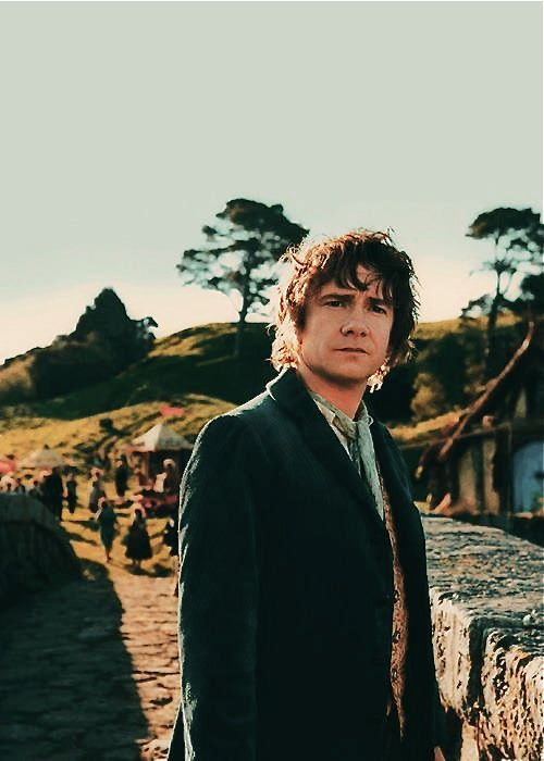 Martin Freeman As Bilbo Baggins The Hobbit Lord Of The Rings Bilbo Baggins
